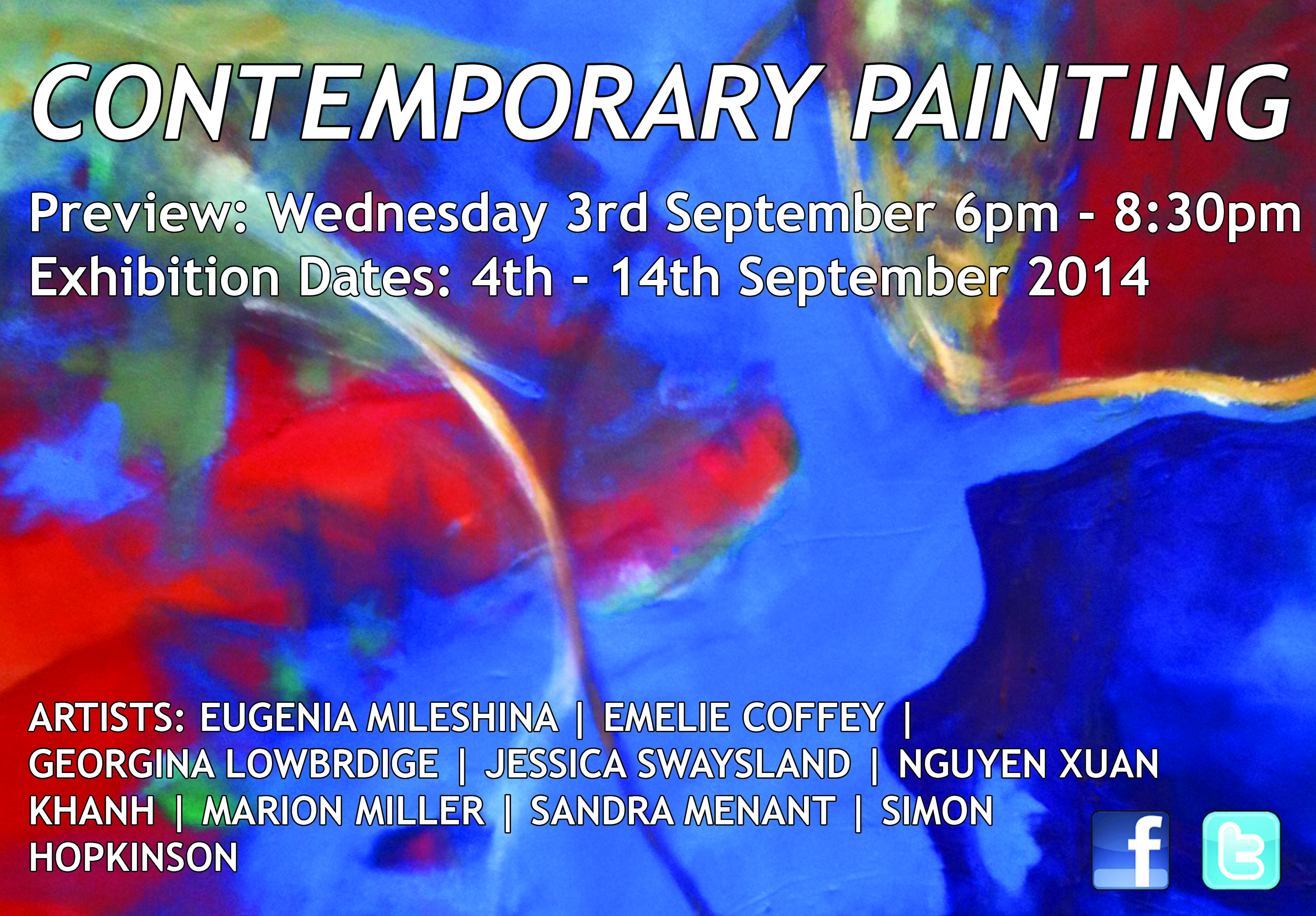 CONTEMPORARY PAINTING facebook flyer (5)
